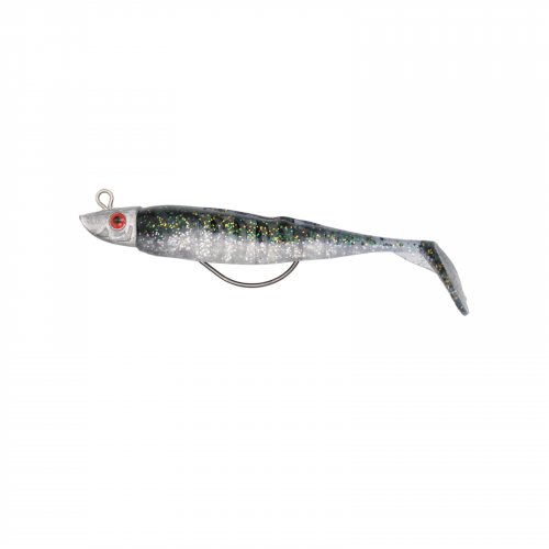 TADDLE TAIL 4 inch Weedless Soft Plastics - Blue and White