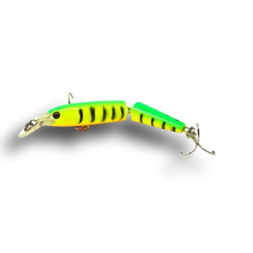 Multi-Jointed Minnow Lure Yellow Tiger