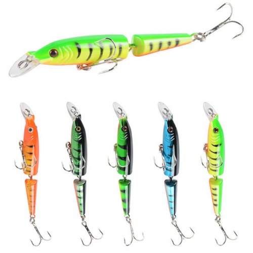 Multi-Jointed Minnow Lure